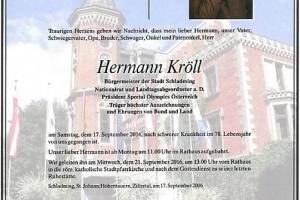 Hermann Kröll