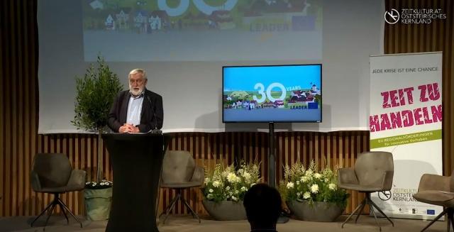 30/25 Jahre LEADER EU/AT: Jubiläumsveranstaltung in Hartberg