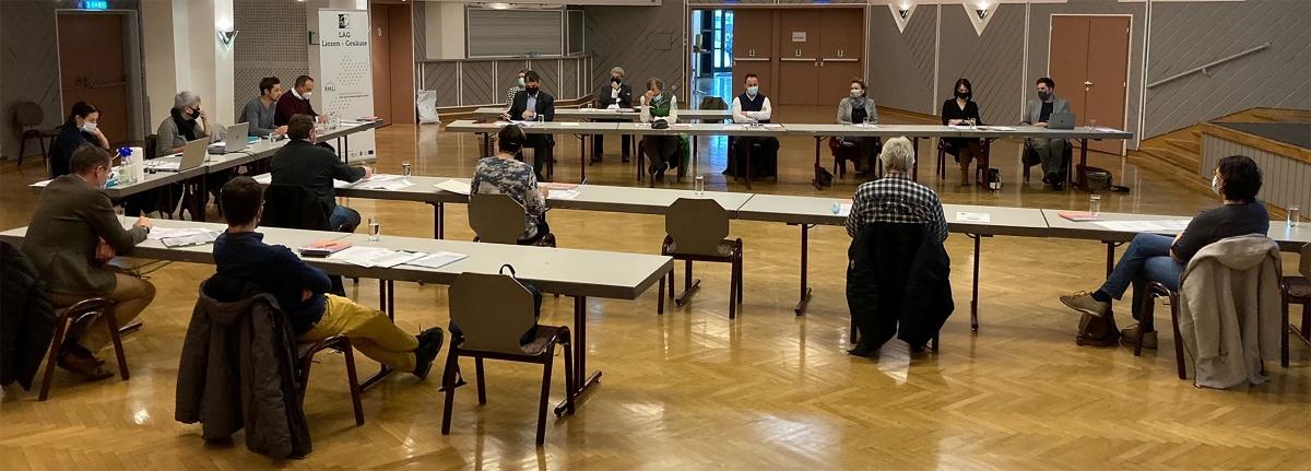 Sitzung der Steuerungsgruppe der LAG Liezen - Gesäuse im Kulturhaus Liezen