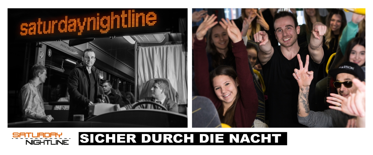 "Neue Kooperation mit der Saturday Nightline und Rapper ""Train D-Lay"""
